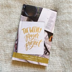 4/$25 - The Weekly Prayer Project Hardcover Book